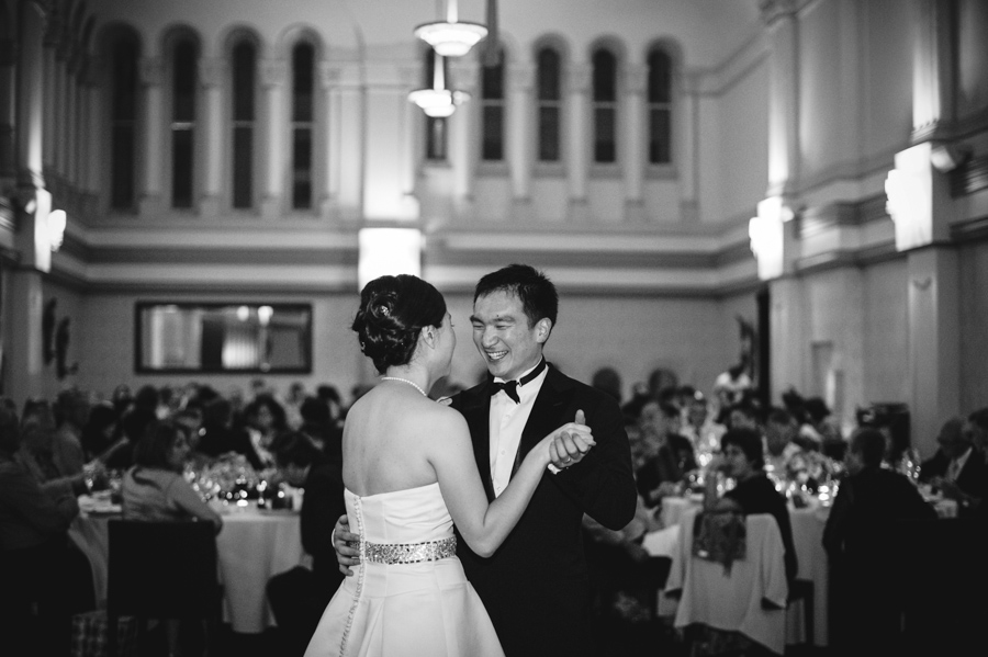 wedding at tearoom qvb