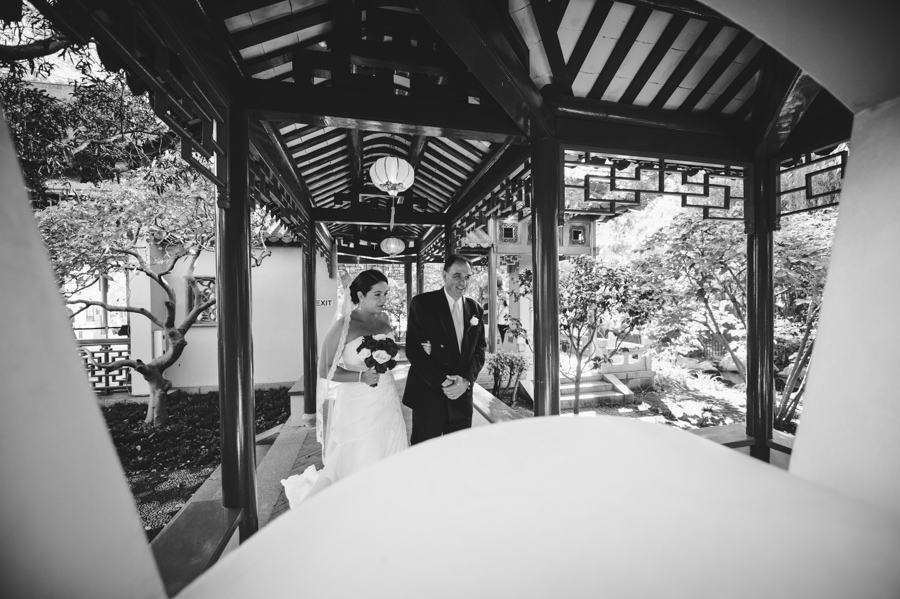 Chinese Garden of Friendship wedding