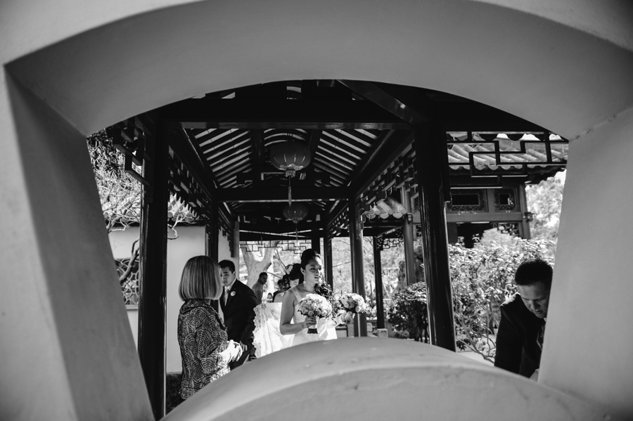 Chinese Garden Darling Harbour Wedding